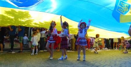 19 травня в Одесі пройшов вже ХІ похід мегамаршу у вишиванках