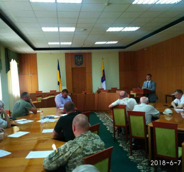 Засідання координаційної ради при ООДА