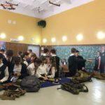 Урок з військово-патріотичного виховання у сьомій одеській гімназії.