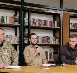 Презенція-дискусія на тему війни в Україні