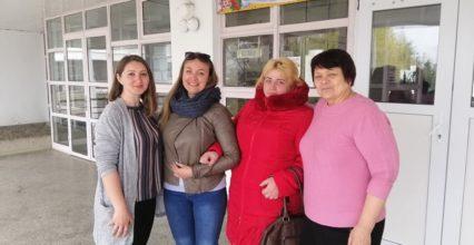 Робочий візит до Новосільського НВК