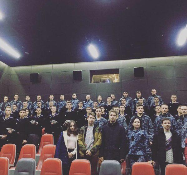 """Соціальний кінопоказ стрічки """"Одесити на Донбасі""""."""