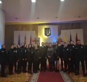 Святкування 98-ї річниці з дня заснування Одеського державного університету внутрішніх справ