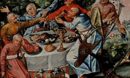 """Онлайн-лекція:  """"Їсторія Війська Запорозького: наїдки та напої козацького лицарства""""!"""