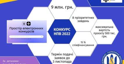 Конкурс з визначення проєктів національно-патріотичного виховання, розроблених інститутами громадянського суспільства від Міністерства молоді та спорту (Анонс)